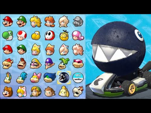 Chain Chomp In Mario Kart 8 (Lightning Cup)