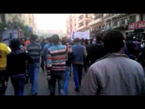 March Towards Court House, Cairo - 25th Jan 2011