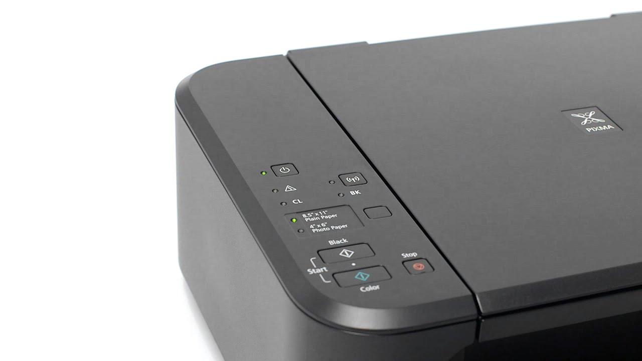 Canon Pixma Mg3522 Cableless Setup With An Ios Device Youtube