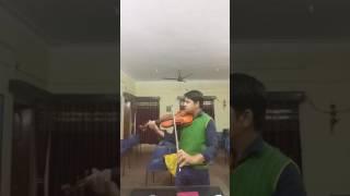 Sun Raha Hai Na Tu......violin Cover