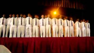 Dharmaraja College Senior Choir 2010