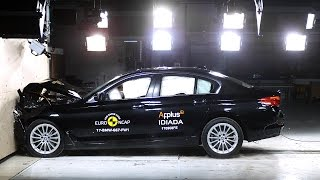 BMW 5er G30: Euro NCAP-Crashtest 2017