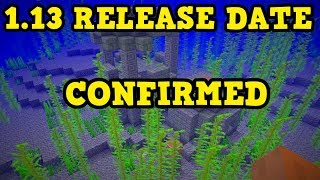 Minecraft 1.13 RELEASE DATE CONFIRMED + PS4, PS3 TU67