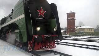 Ретро-паровоз Иваново 2020г