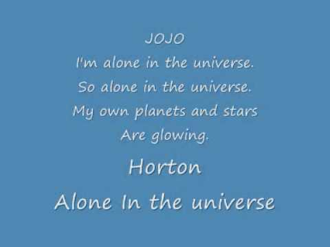 alone in the universe karaoke sessuical