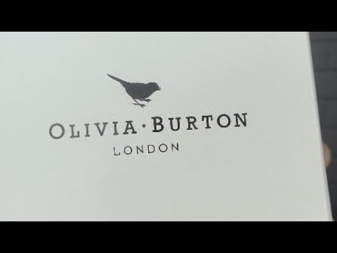 Olivia burton watch unboxing!