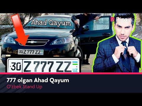 O'zbek Stand Up - 777 olgan Ahad Qayum