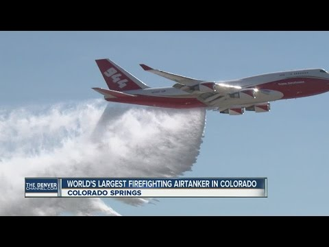 World's largest firefighting air tanker is making Colorado home