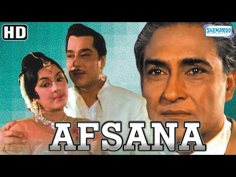 Afsana {HD & Eng Subs} - Hindi Full Movie - Ashok Kumar - Veena - Jeevan - Pran - Old Hindi Movies