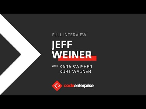 Live interview with Jeff Weiner, CEO of LinkedIn | Code Enterprise 2016