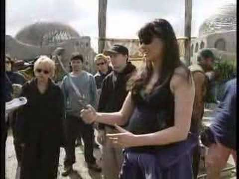 On The Set Of The 100TH Episode    Xena