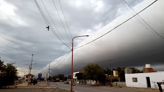 Giant Cloud Rolls Through Neighborhood