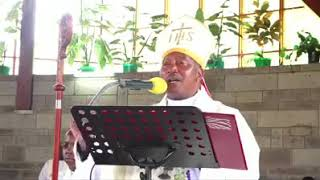 CATHOLIC ARCBISHOP SINGING Kamaru's muhiki wa mikosi music