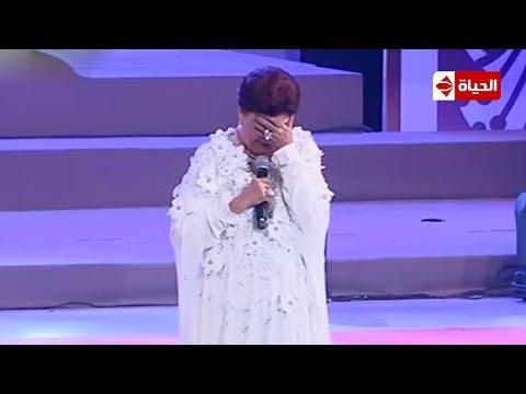 لحظة بكا رجا الجداوي بعد ما قاله الرئيس السيسي عنها