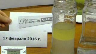 Расслоение эмульсии (вода + дизельное топливо)(Расслоение эмульсии (вода + дизельное топливо), 2016-02-21T20:03:22.000Z)
