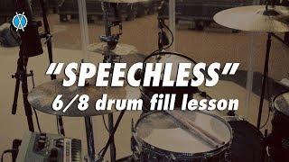 Speechless 6/8 Gospel Drum Fill Lesson