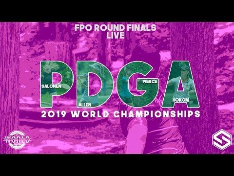 2019 PDGA World Championships - Live - FPO Round 5 FINALS