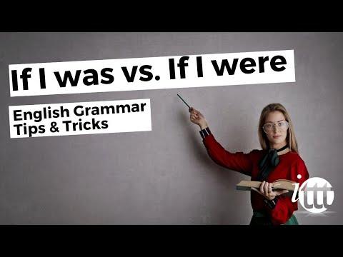 IF I WAS vs IF I WERE   Ask Linda!   English Grammar