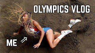 Tara Davis' Olympic Debut Vlog | TOKYO202ONE | Tara and Hunter
