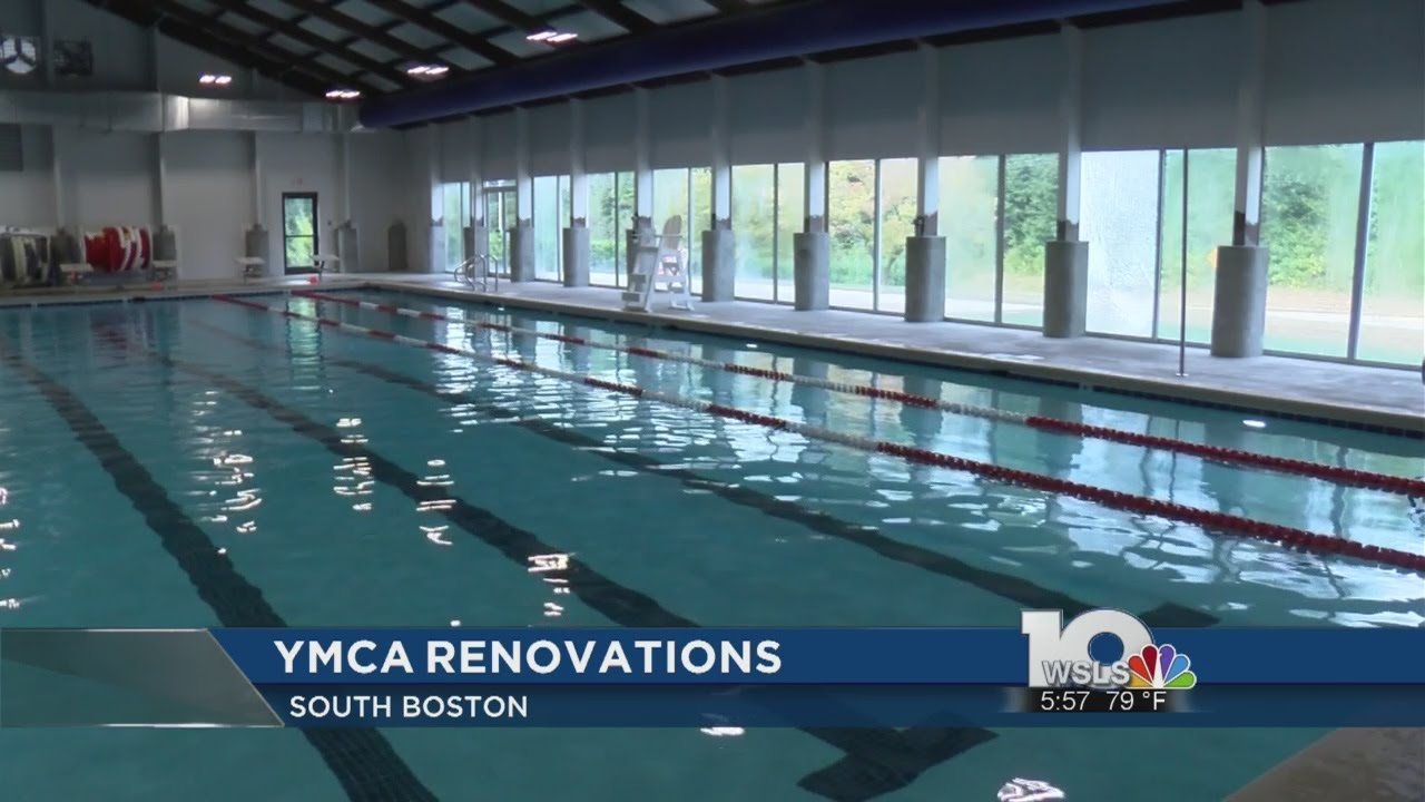 South Boston Ymca Pool Reopens Youtube