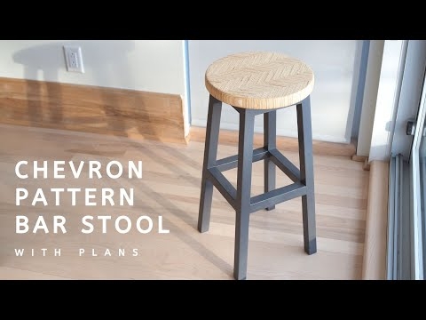 chevron-pattern-bar-stool-|-with-plans