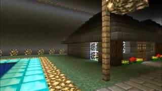 minecraft huge underground house tour
