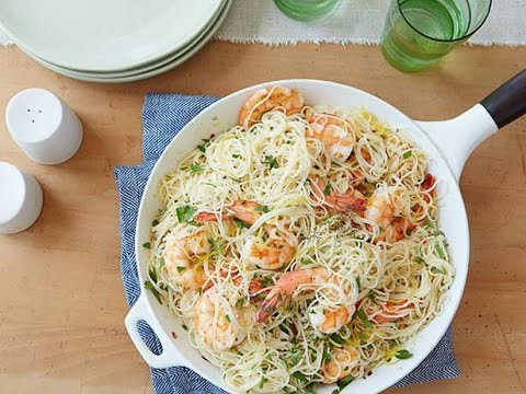 Shrimp Scampi With Angel Hair Pasta | Food Network