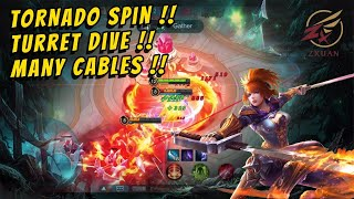 ZXUAN FANNY FAST HAND GAMEPLAY !!!