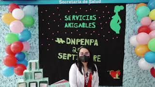 El programa SERVICIOS AMIGABLES invita a la población a formar parte de las platicas informativas