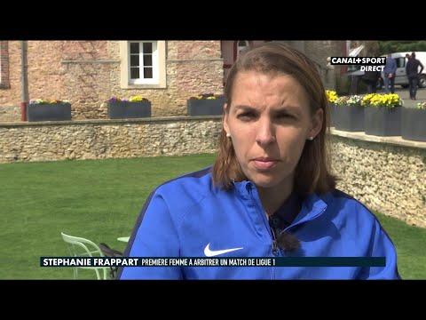 Stéphanie Frappart première femme à arbitrer un match de Ligue 1 Conforama