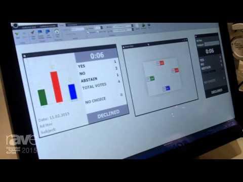 ISE 2015: Beyerdynamic Shows Digital Wireless Conferencing System