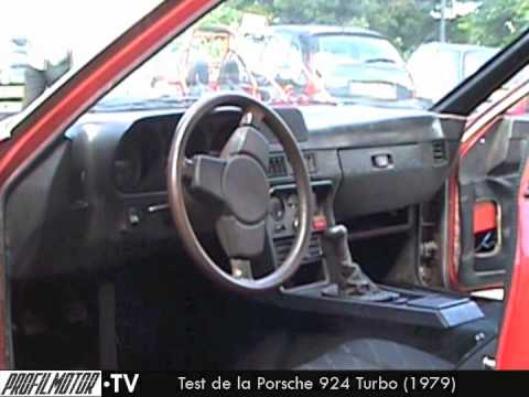 Test De La Porsche 924 Turbo 1979 Par Profilmotor Tv