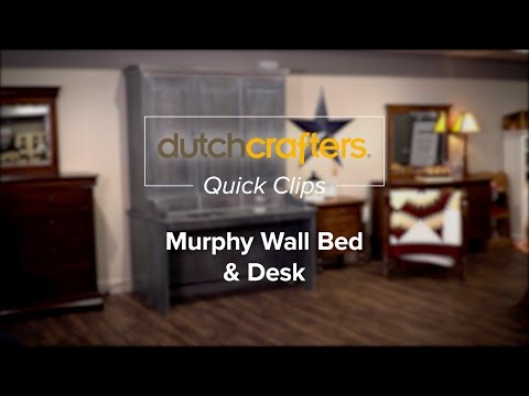 amish murphy wall beds from dutchcrafters