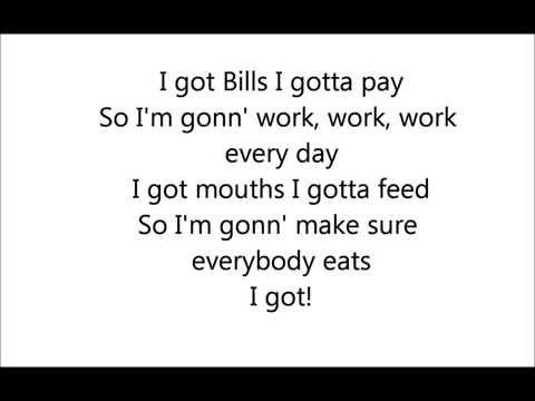 Lunchmoney Lewis- Bills Lyrics