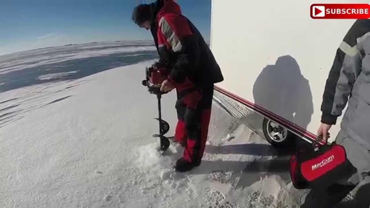 Dji phantom ice fishing south dakaota waubay lake for Waubay fishing report