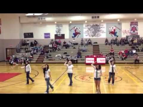 Tonopah High School Drill team 2012