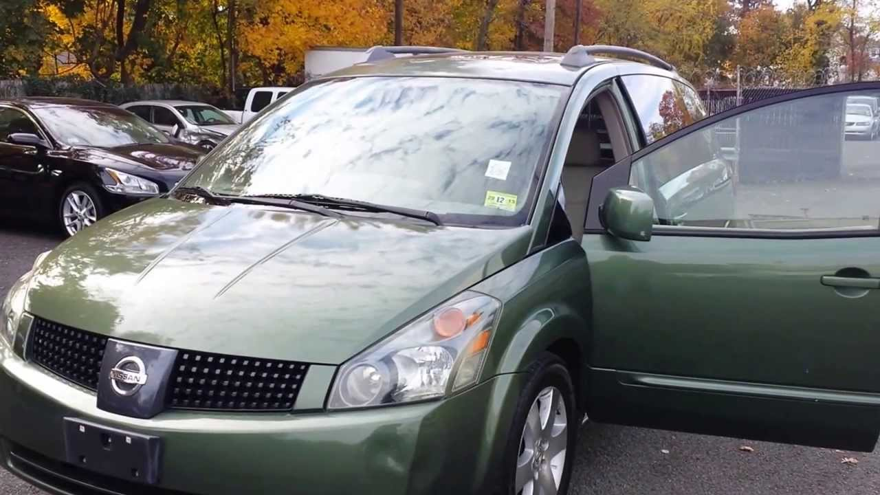 Condition report for 2004 nissan quest 35 se w leather sunroof condition report for 2004 nissan quest 35 se w leather sunroof package vanachro Gallery