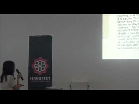 Semiofest 2014 (09): Cultural Markedness  Proposal of a Semiosis Model