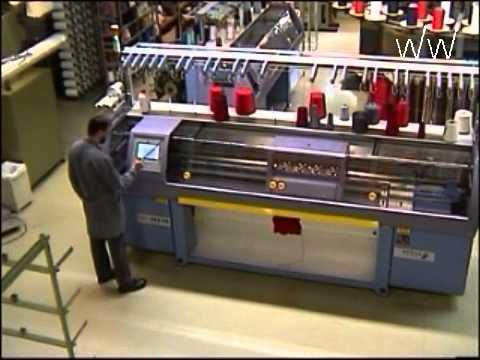 Working Principle Of Flat Weft Knitting Machines Youtube