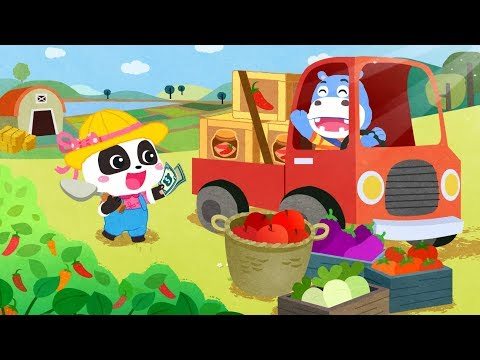 Little Panda's Dream Garden | Learn Fruits | Kids Games | Gameplay Video | BabyBus Game