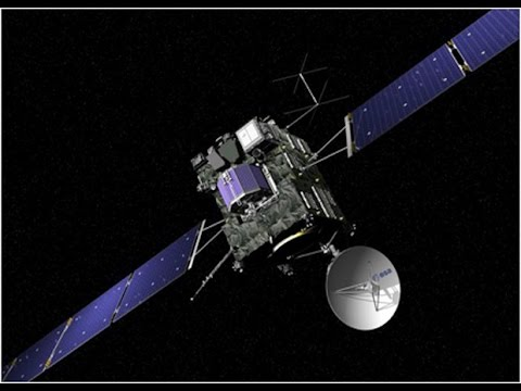 Europe's Rosetta becomes the first spacecraft to goes into orbit around comet
