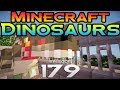 Minecraft Dinosaurs! - Episode 179 - The town and the spinosaurus