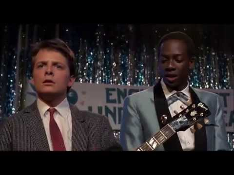 "Earth Angel,  Johnny B. Goode  -  (""Back To The Future"")"