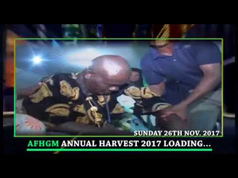 ALL FOR HIS GRACE MINISTRY'S ANNUAL HARVEST 2017