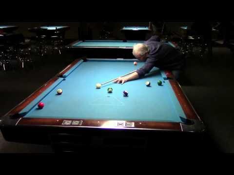Bobby Hunter Dennis Walsh Straight Pool Match to 125