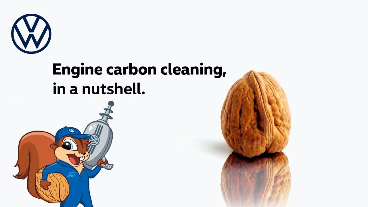 WALNUT CLEANING? | Volkswagen Decarbonization Service