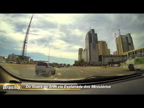 Brasília, Do Guará ao Setor Hoteleiro Norte passando pela Esplanada dos Ministérios.