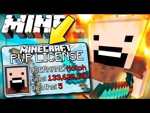 If You Needed A PVP License To Fight - Minecraft
