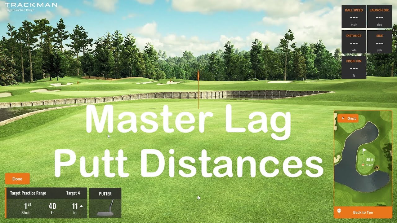 Lag Putting Indoors Gives You Distance Control Outdoors