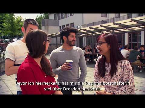 Drei Menschen – drei Länder – drei Karrieren an der TU Dresden